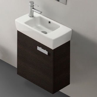 18 Inch Vanity Cabinet With Fitted Sink ACF C13