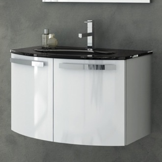 28 Inch Vanity Cabinet With Fitted Sink ACF CD05