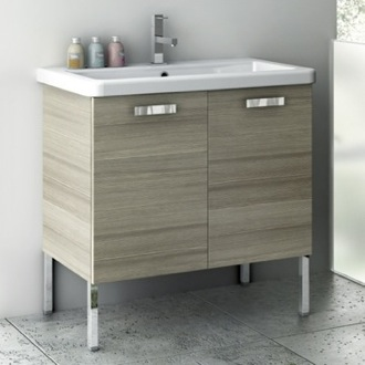 Bathroom Vanity 30 Inch Cabinet With Ed Sink Acf Cp09