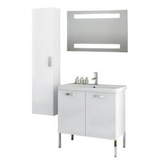 Bathroom Vanity 30 Inch Bathroom Vanity Set ACF CP92-Larch Canapa