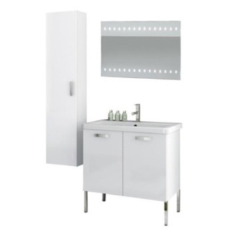 Bathroom Vanity 30 Inch Bathroom Vanity Set ACF CP95-Larch Canapa