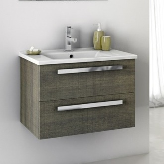 24 Inch Vanity Cabinet With Ed Sink Acf Da04