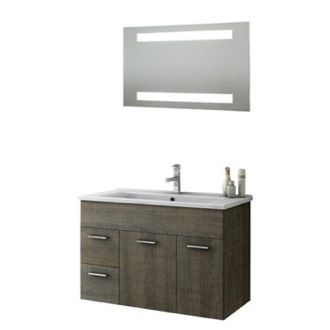 Bathroom Vanity 33 Inch Bathroom Vanity Set ACF LOR05-Larch Canapa