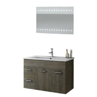 Bathroom Vanity 33 Inch Bathroom Vanity Set ACF LOR08-Larch Canapa