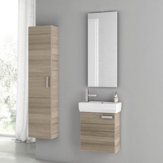 18 Inch Larch Canapa Bathroom Vanity Set ACF C27