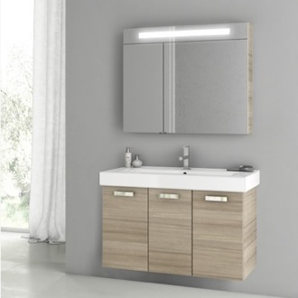 39 Inch Larch Canapa Bathroom Vanity Set ACF C85