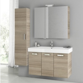 39 Inch Larch Canapa Bathroom Vanity Set ACF C88