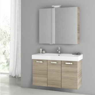 39 Inch Larch Canapa Bathroom Vanity Set ACF C87