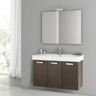 39 Inch Wenge Bathroom Vanity Set ACF C46