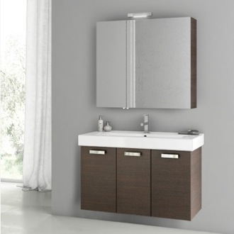 39 Inch Wenge Bathroom Vanity Set ACF C91