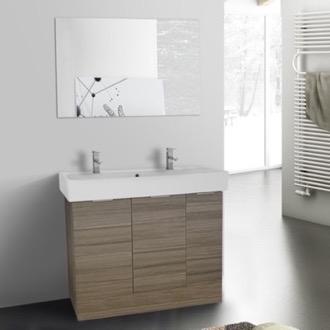 Bathroom Cabinets Floor Standing bathroom vanities - thebathoutlet