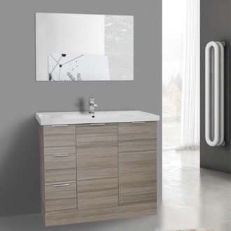 Bathroom Cabinets Floor Standing larch canapa bathroom vanities & cabinets - thebathoutlet