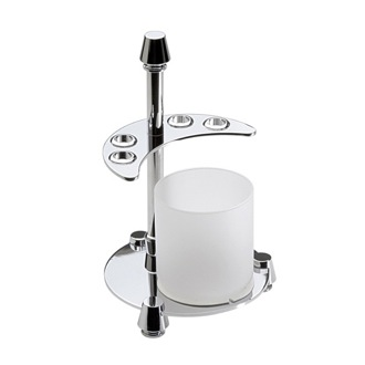 Toothbrush Holder 4-Hole Toothbrush Holder and Bathroom Tumbler 83107D Windisch 83107D