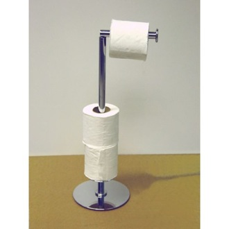 Toilet Paper Holder Floor Standing Spare Toilet Roll Holder Windisch 89223