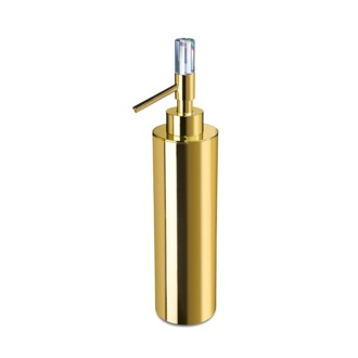 Soap Dispenser Contemporary Brass Soap Dispenser with Swarovski Crystal 90615 Windisch 90615