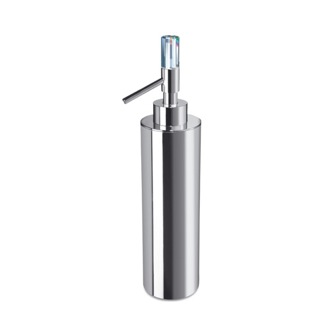 Soap Dispenser Contemporary Brass Soap Dispenser with Swarovski Crystal Windisch 90615