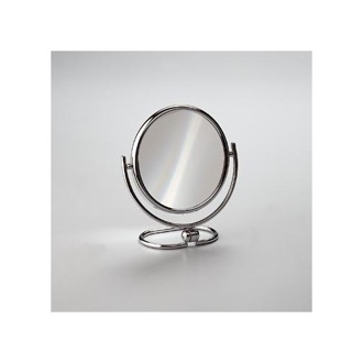 Makeup Mirror Brass Double Face 3x or 5x Magnifying Mirror 99122 Windisch 99122