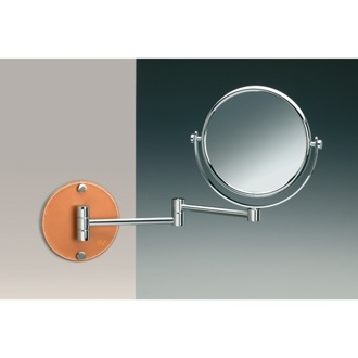 Makeup Mirror Wall Mounted Extendable Chrome 3x, 5x, or 7x Magnifying Mirror 99141Q Windisch 99141Q