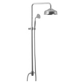 Showerpipe System Wall Mounted Classic Rainhead And Hand Shower S2099/S2123 Fima S2099/S2123