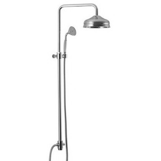 Shower Column Wall Mounted Classic Shower With Rainhead And Hand Shower S2100 Fima S2100/S2123