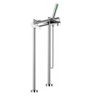 Tub Filler Floor Mounted Bath Mixer Filler On Risers With Hand Shower Set S3534/4 Fima S3534/4