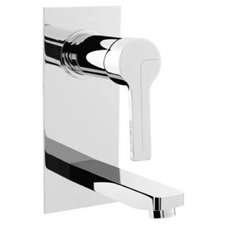 Bathroom Sink Faucet Wall Mounted Single Lever Wash Bathroom Sink Faucet With Short Spout S3541/5 Fima S3541/5/S2935