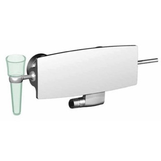 Bath-Shower Mixer Wall Mounted Polished Chrome Shower Faucet S3655/1 CR Fima S3655/1 CR