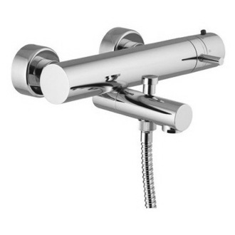 Tub Filler Wall Mounted Thermostatic Bath Mixer Without Hand Shower Set S4034/1 Fima S4034/1