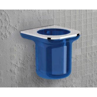 Toothbrush Holder Round Wall Mounted Thermoplastic Resin Toothbrush Holder 1410 Gedy 1410