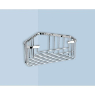 Shower Basket Wire Corner Shower Basket 2483 Gedy 2483