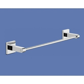 Towel Bar 13 Inch Single Bathroom Chrome Towel Bar Gedy 2821-35-13