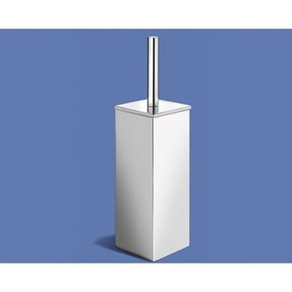 Toilet Brush Floor Standing Chrome Toilet Brush Holder 2833-13 Gedy 2833-13