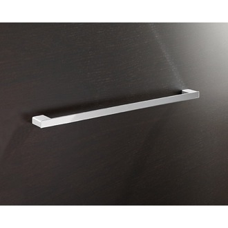 Towel Bar Square 24 Inch Towel Bar In Polished Chrome Gedy 5421-60-13