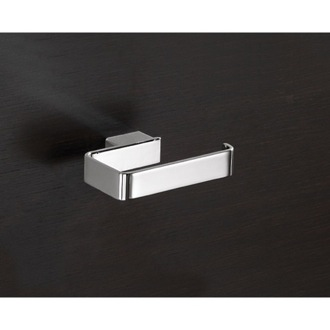 Square Polished Chrome Toilet Roll Holder ...