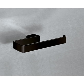 Towel Ring Square Matte Black Towel Ring 5470-M4 Gedy 5470-M4