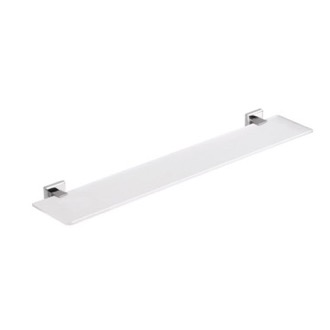 Bathroom Shelf Square 24 Inch Frosted Glass Bathroom Shelf 6919-60-13 Gedy 6919-60-13