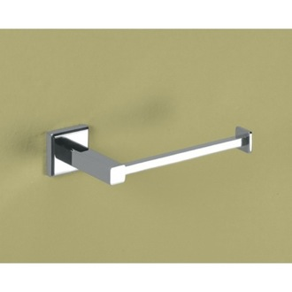 Polished Chrome Toilet Roll Holder Gedy 6924-13