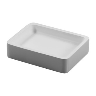 Soap Dish Rectangle Resin Soap Holder 7911 Gedy 7911