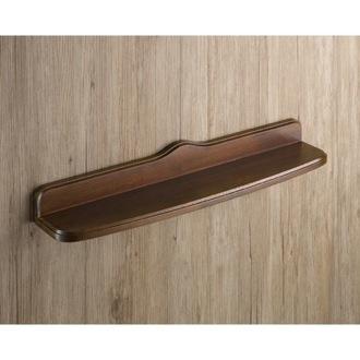 Bathroom Shelf Old Walnut Wood Bathroom Shelf Gedy 8119 55 95