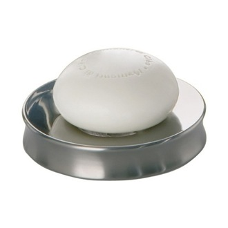 Round Stainless Steel Soap Dish Gedy PR11-21