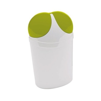 Waste Basket Free Standing Waste Basket With Cover Available in Multiple Finishes 1109 Gedy 1109