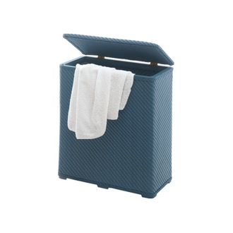 Laundry Basket Rectangle Blue Laundry Basket 2038-05 Gedy 2038-05