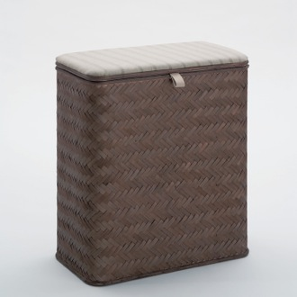 Laundry Basket Rectangle Wenge Laundry Basket 2239-19 Gedy 2239-19