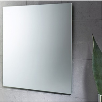 24 x 28 Inch Wall Mounted Vanity Mirror Gedy 2550-13