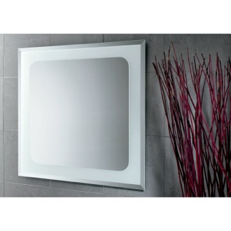 28 x 28 Inch Square Vanity Mirror Gedy 2596
