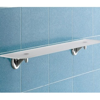 Bathroom Shelf Frosted Glass Bathroom Shelf Gedy 3019-65-13