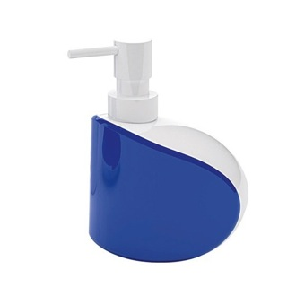 Soap Dispenser Unique Free Standing Soap Dispenser in White and Blue Finish 3180-89 Gedy 3180-89