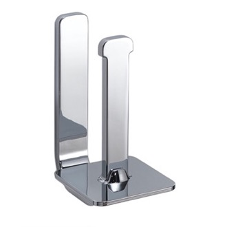 Polished Chrome Vertical Toilet Paper Holder Gedy 3224-02-13