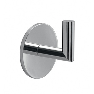 Bathroom Hook Adhesive Chrome Wall Mounted Hook 3626-13 Gedy 3626-13