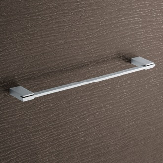 Square 18 Inch Polished Chrome Towel Bar Gedy 3821-45-13
